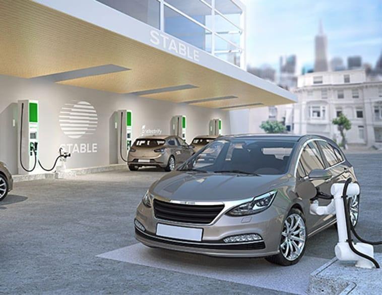 Robotic Charging for Self-driving EV Fleets