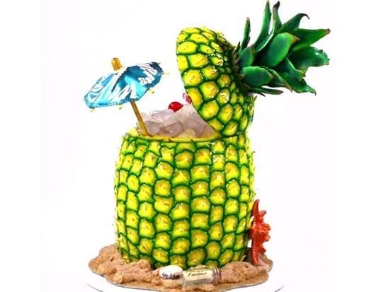 L'ananas de Mike Burton.