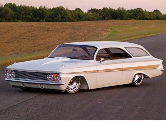 Cette Impala 1961 a été repeinte par Jesse Greening avec les produits Glasurit 90. (Photo : BASF)