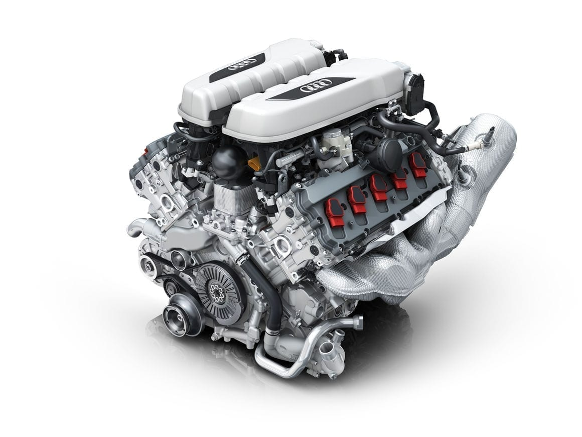 Audi Celebrates the V10 Engine's Success