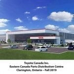 Toyota Unveils New Parts Distribution Centre in Clarington