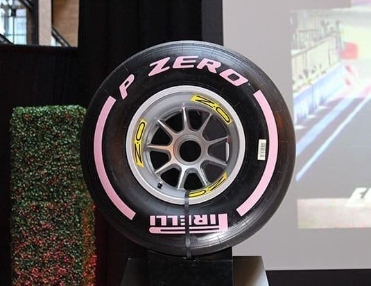 Atlas and Pirelli at the Grand Prix 2018