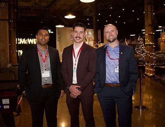 AIA Canada Hosts Holiday Networking Reception