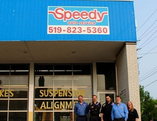 New Owners for Speedy Auto Service Guelph