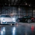 Porsche Marks Warehouse Grand Opening
