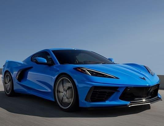 Corvette 2020 voiture année