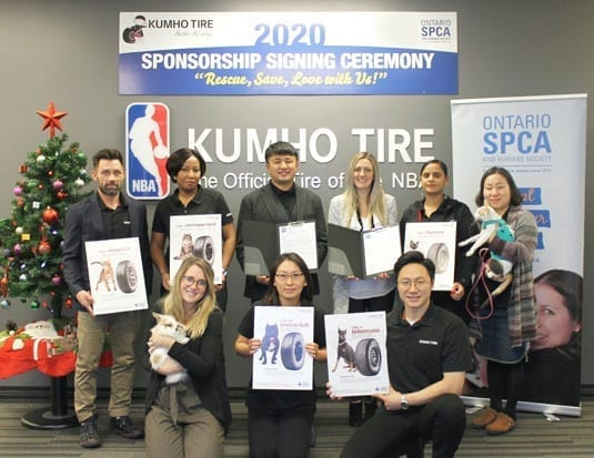 Kumho Backs Humane Society