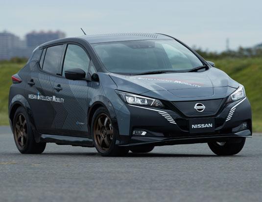 Nissan expérimente la technologie e-4ORCE