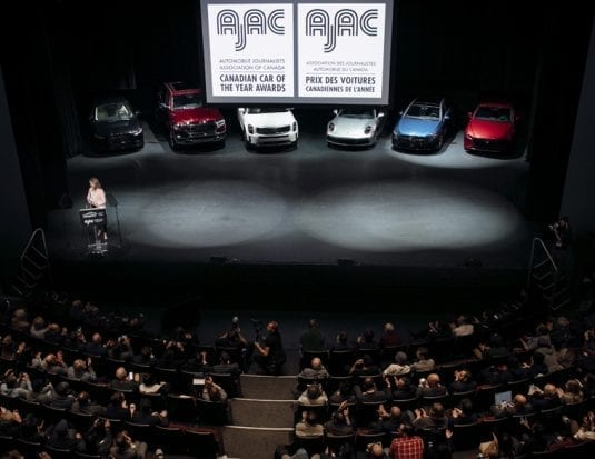 AJAC 2020 voiture canadienne année