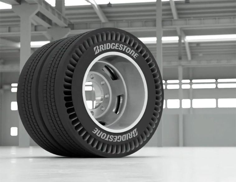 Bridgestone pneu sans air
