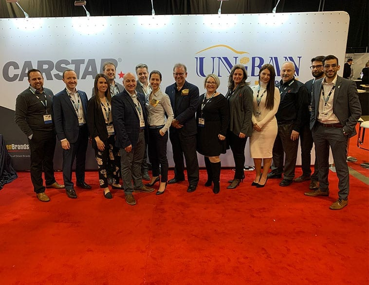United Presence of CARSTAR, Uniban at CCIF Toronto 2020