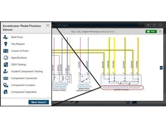 Mitchell 1 Enhances Wiring Diagrams
