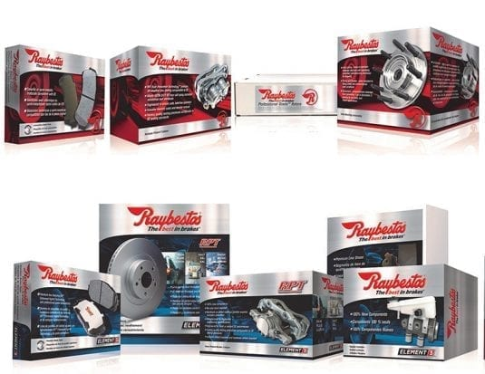 European Coverage Added to Raybestos Product Lines