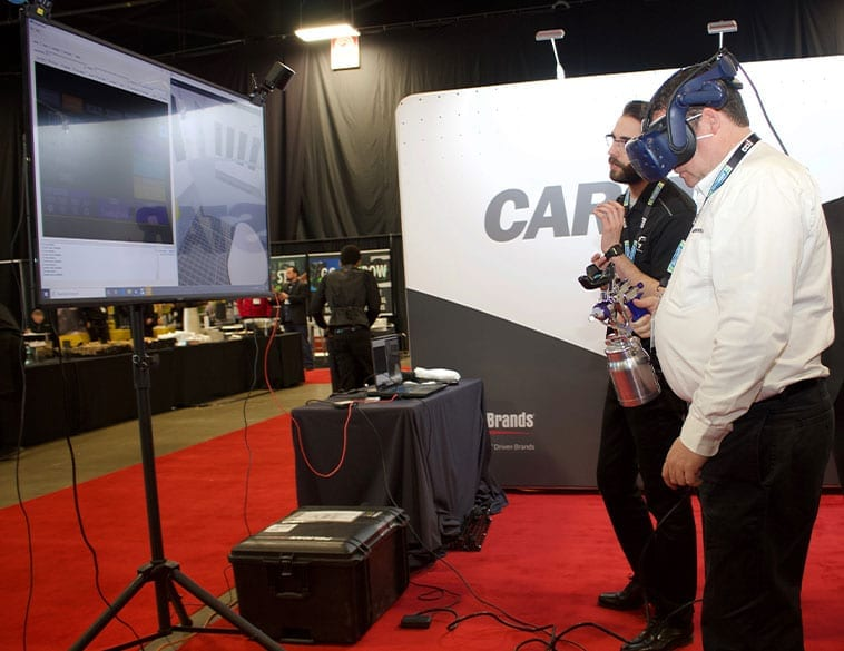 Interactive Display by CARSTAR at CCIF