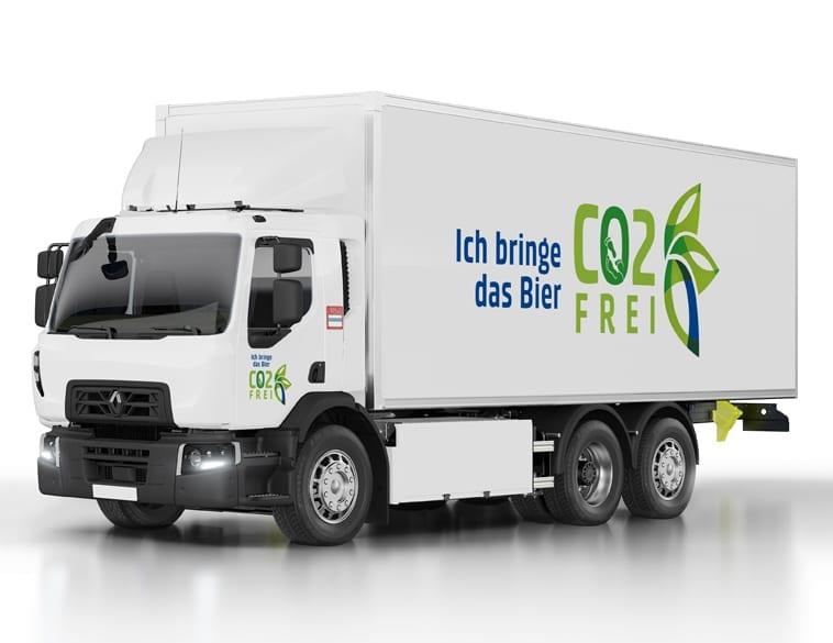 Renault Trucks groupe Carlsberg