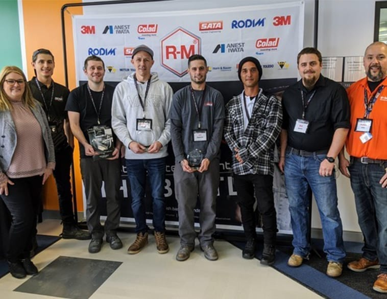 BASF Selects R-M Best Painter Contest 2020 North American Winner