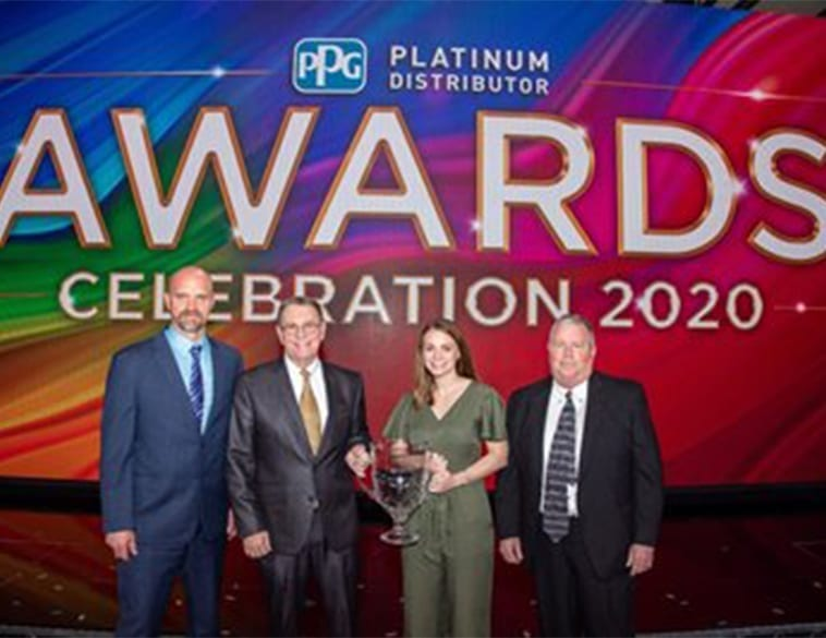 PPG Announces 2019 Platinum Distributor of the Year