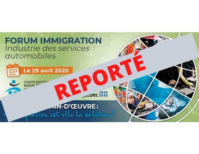 Forum immigration annulé