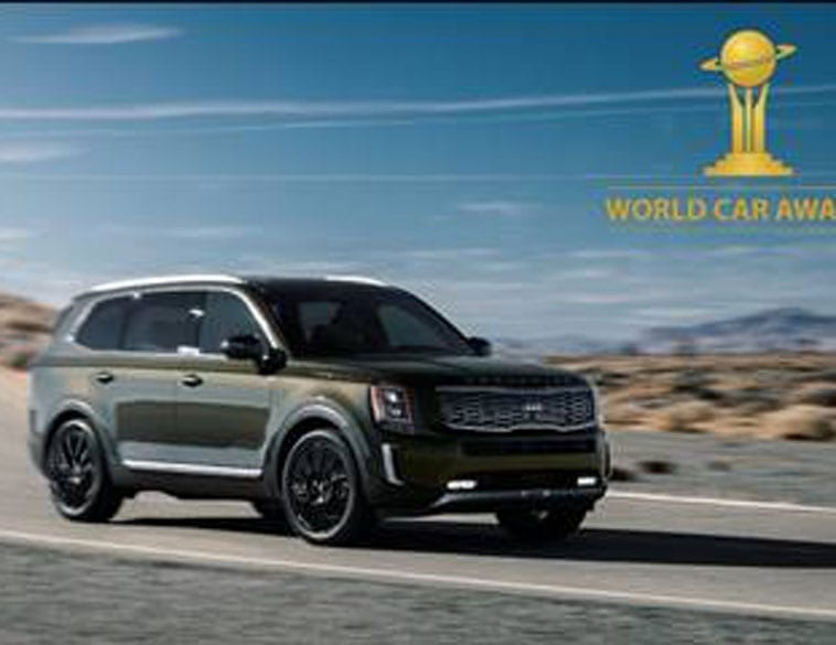 The Kia Telluride was rewarded by the judging panel for its distinctive design and impressive practicality. (Photo : KIA Telluride)