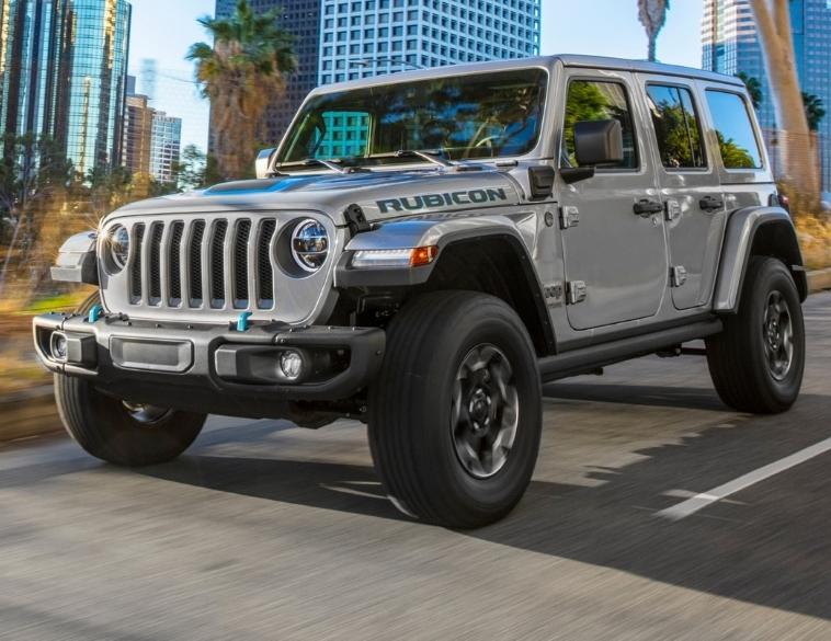 2021 Jeep Wrangler 4XE plug in hybrid