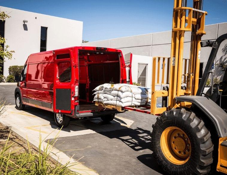 fleet delivery van