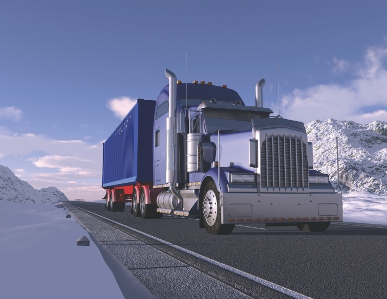 truck driving low rolling resistance tires