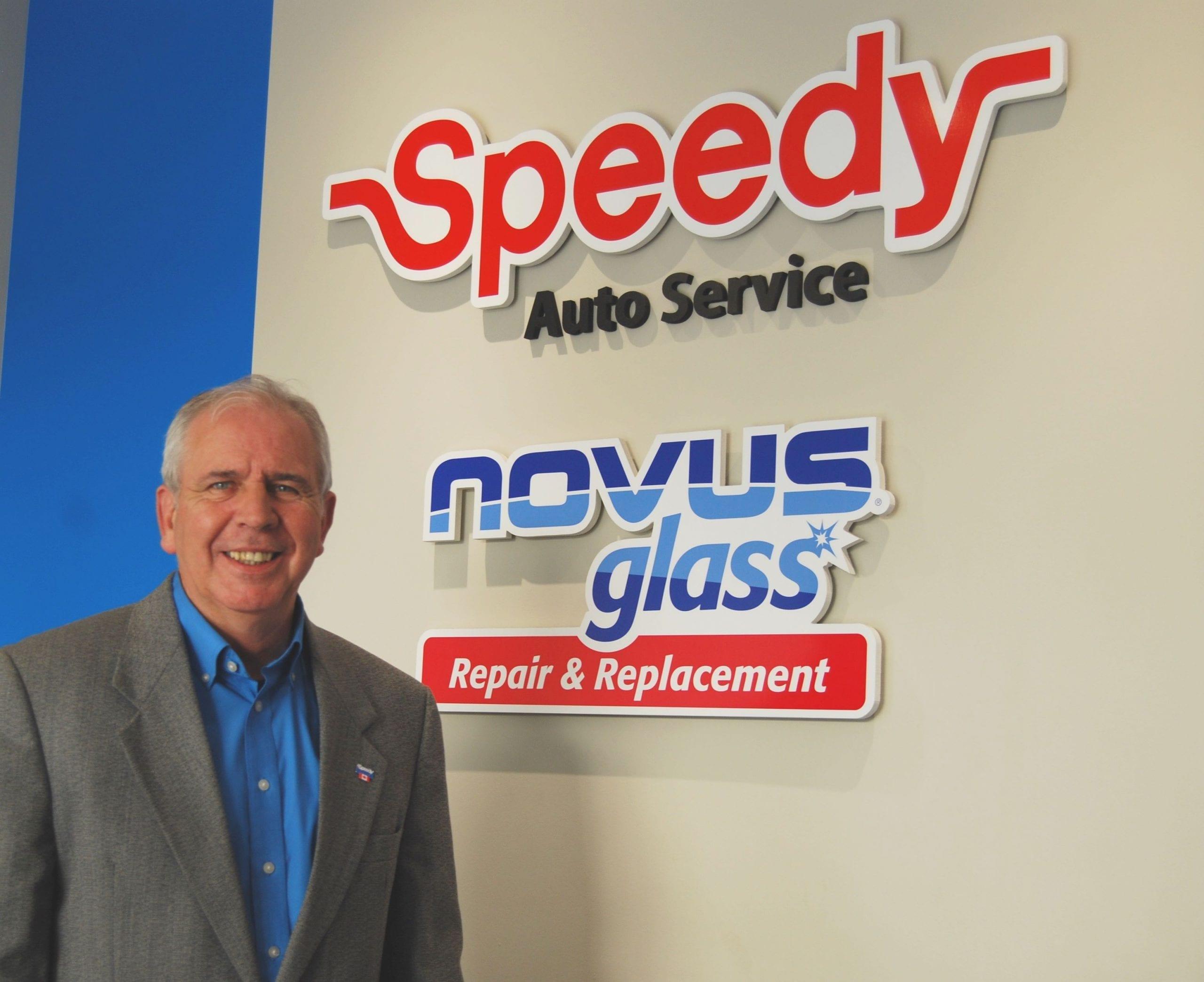 Bert Gregory speedy auto service portrait