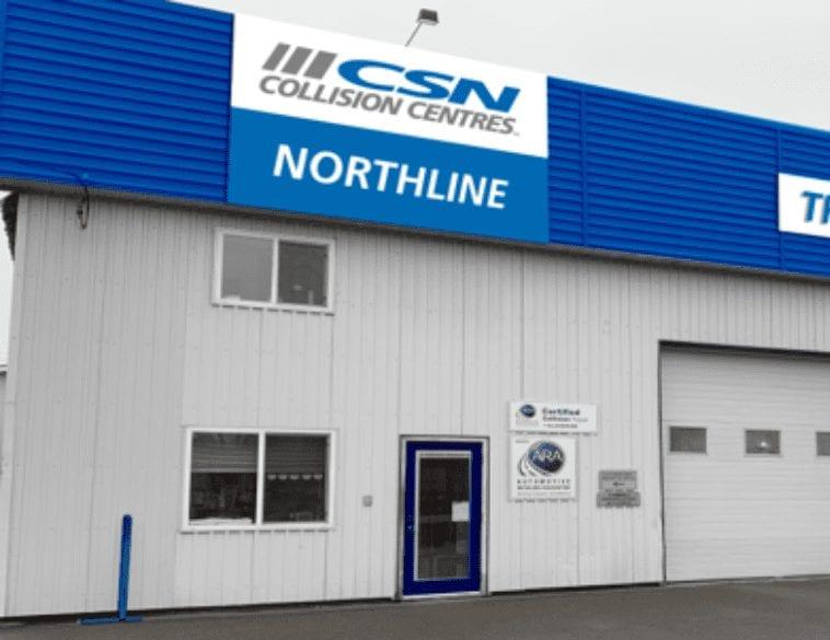 CSN collision centres Northline