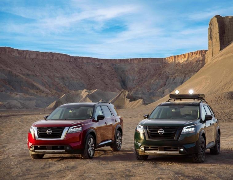 Nissan Frontier Nissan Pathfinder Nissan NEXT