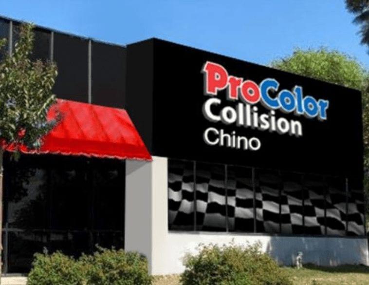 procolor collision chino California