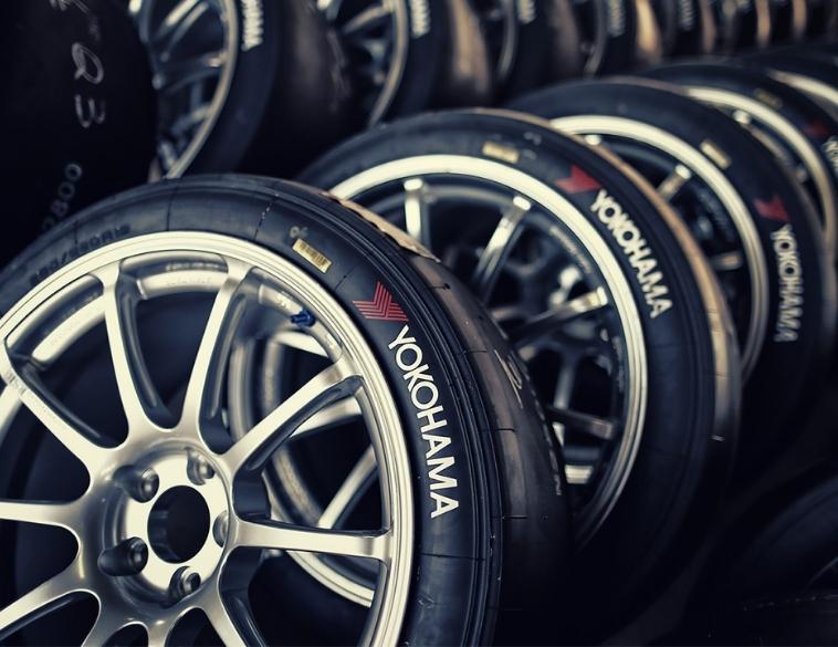 yokohama tires pile