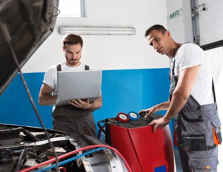 mechanics laptop
