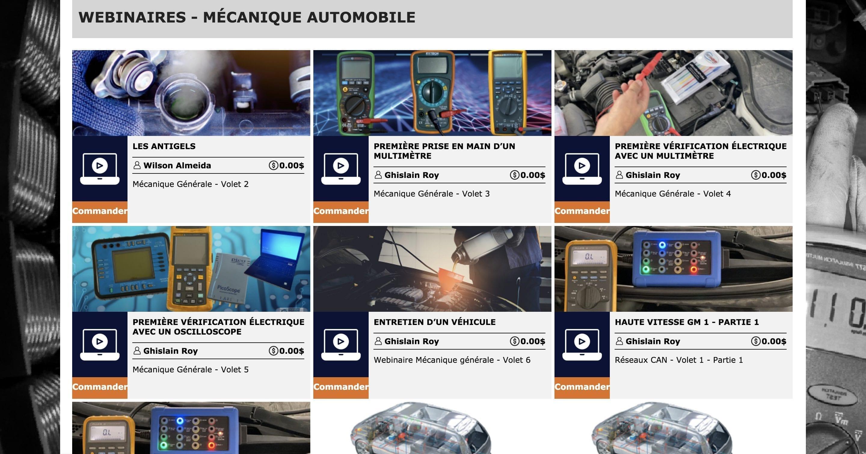 Des formations du CPA de Québec sont disponibles en ligne