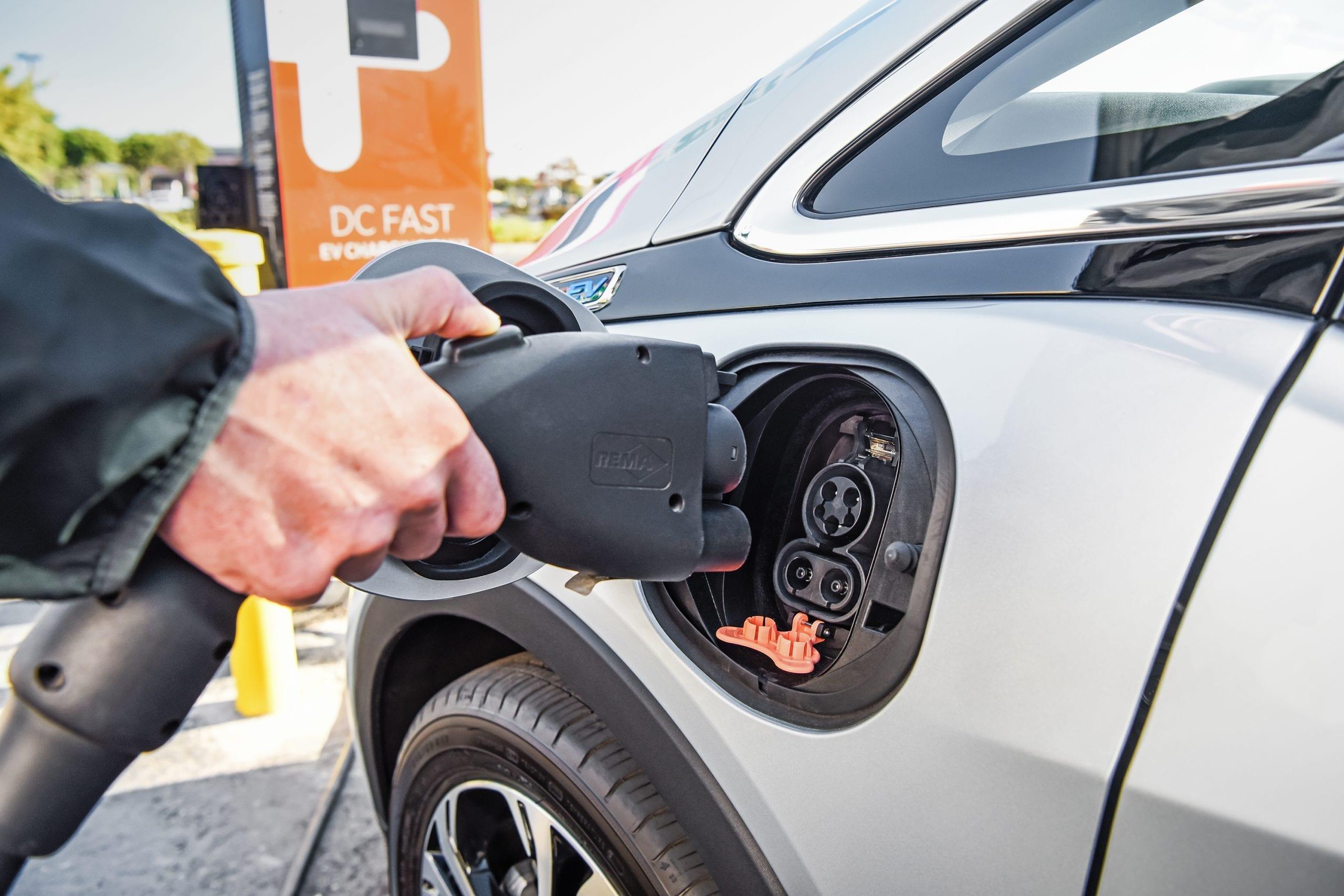 plug in car EV battery