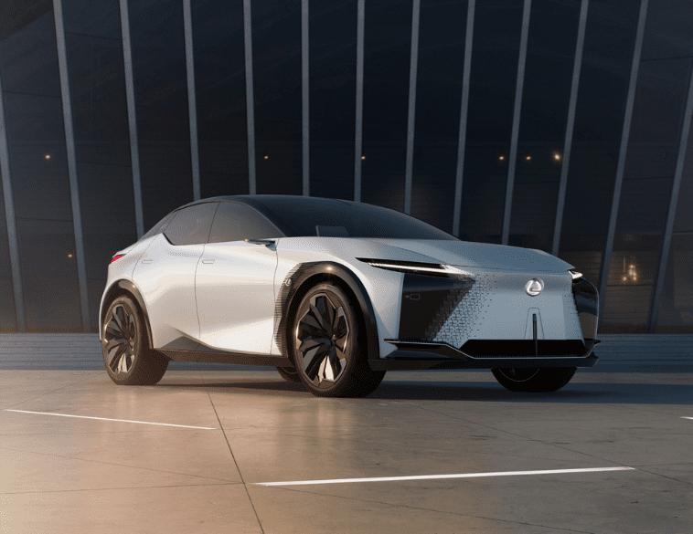 Lexus-LF-Z world premiere