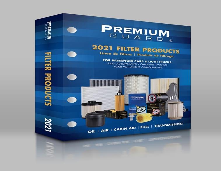 nouveau catalogue 2021de pièces Premium Guard.