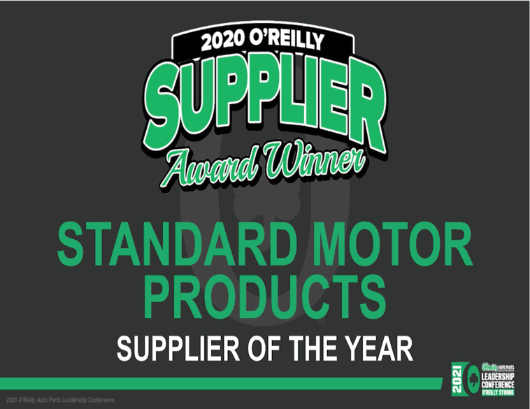 2020 O'Reilly Supplier Award