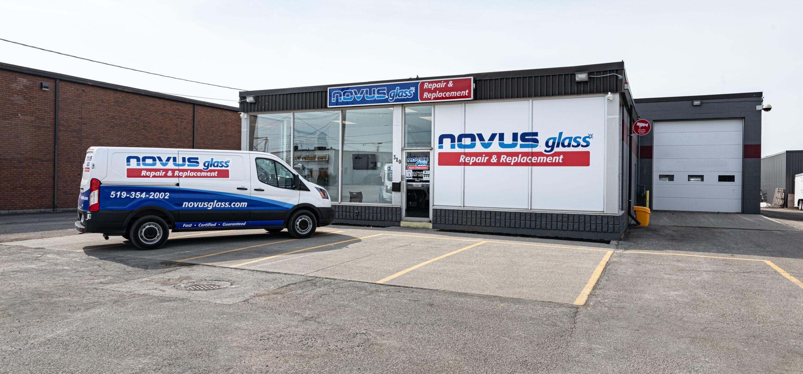 NOVUS Glass Chatham outside