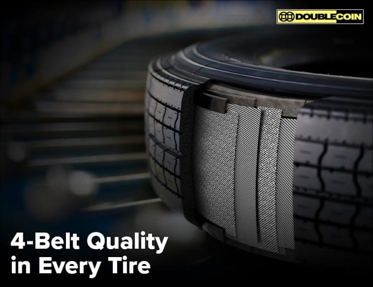 Double Coin 4 belt TBR tire