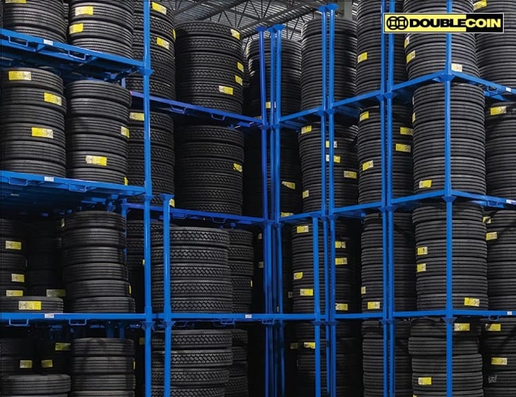Double Coin tire storage