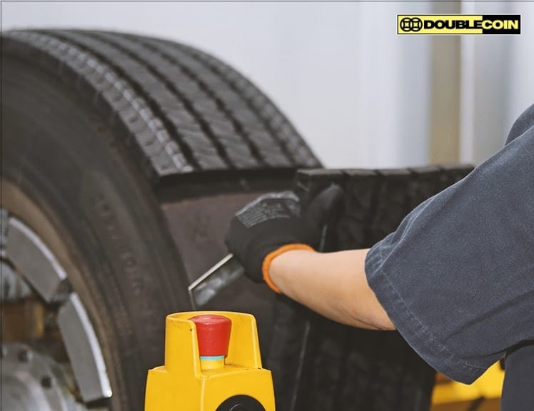 Double Coin tire retread