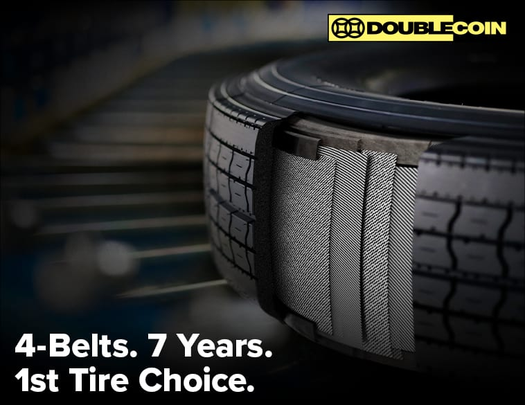 4-belt quality tire double coin