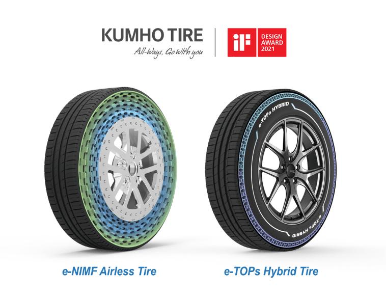 Kumho Tire e-NIMF and e-TOP