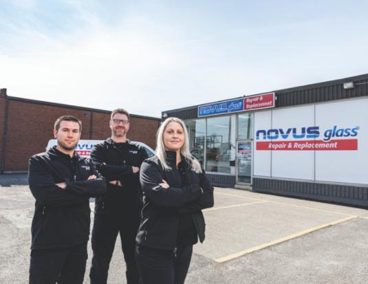 NOVUS Glass Chatham Ontario