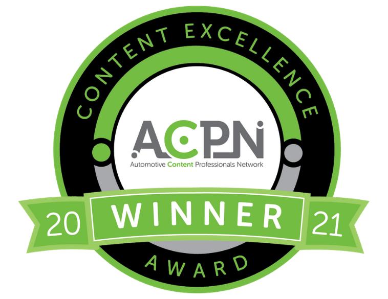 ACPN Content Excellence Award 2021 logo