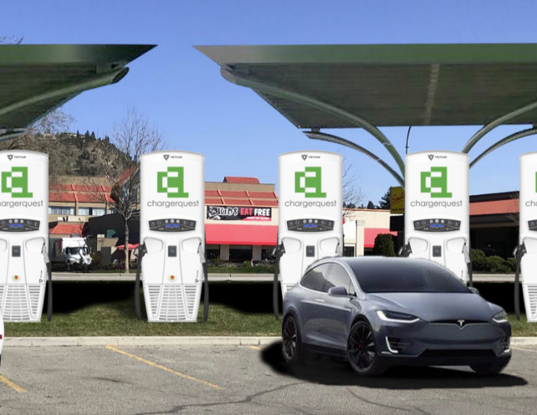 ChargerQuest FAST Electric Vehicle Charging Site