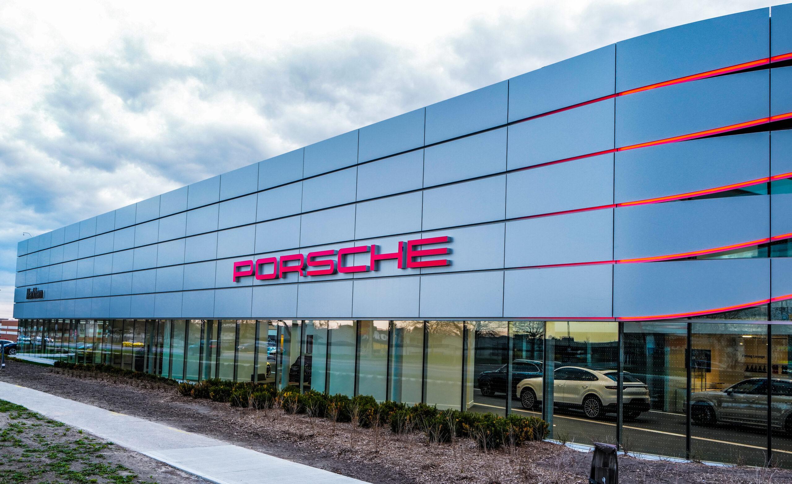 Porsche Centre Markham Exterior