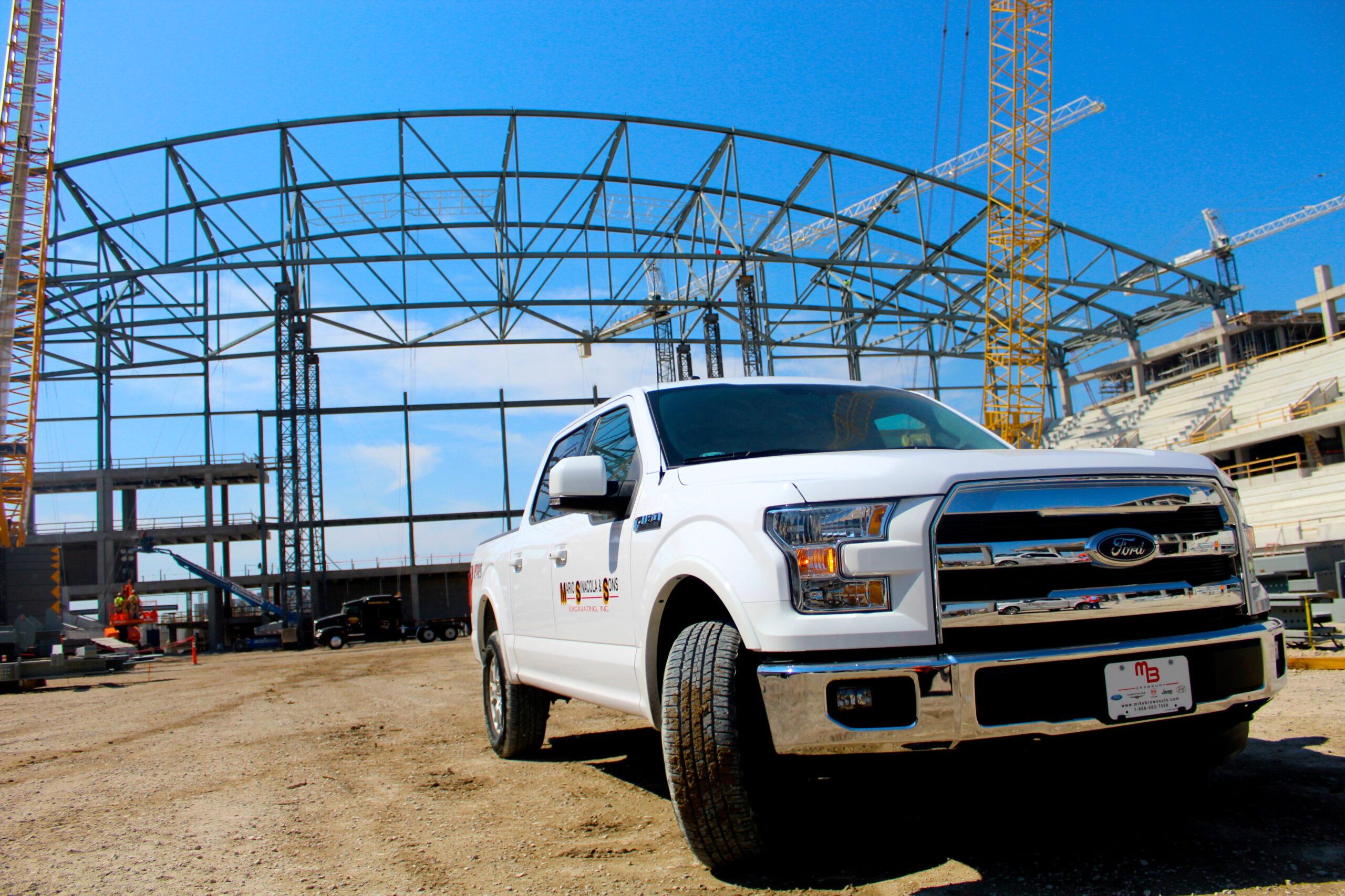 2015 F-150 Dallas Cowboys Stadium Construction