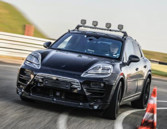 Porsche Macan all electric test drive