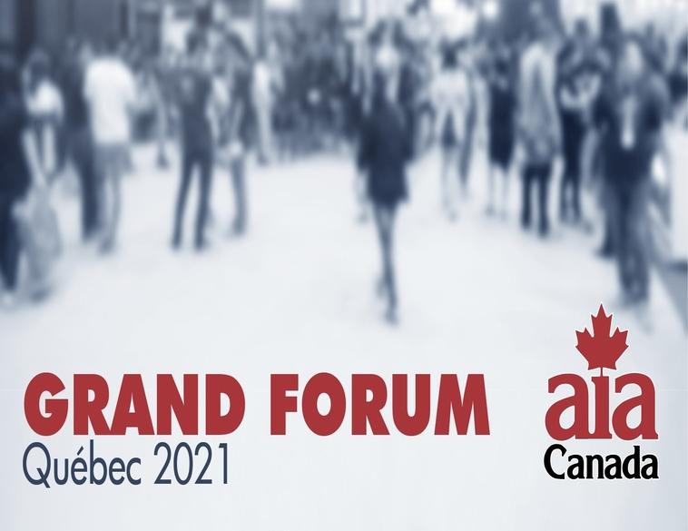 AIA Québec Grand Forum 2021